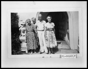 Primary view of object titled 'Group of Three Elderly Women and One Elderly Man'.