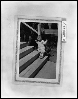 Primary view of object titled 'Tom Perini on Back Steps'.