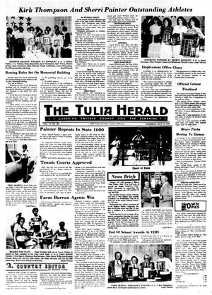 Primary view of object titled 'The Tulia Herald (Tulia, Tex.), Vol. 73, No. 20, Ed. 1 Thursday, May 14, 1981'.