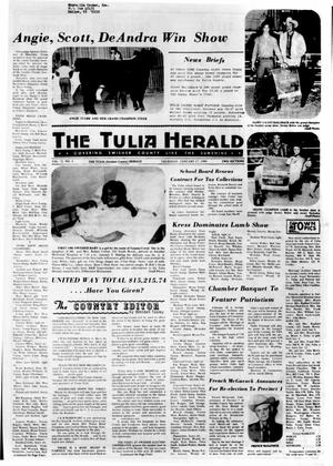 Primary view of object titled 'The Tulia Herald (Tulia, Tex.), Vol. 72, No. 3, Ed. 1 Thursday, January 17, 1980'.