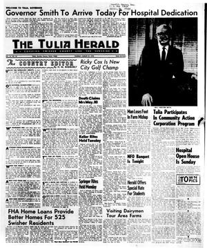 Primary view of object titled 'The Tulia Herald (Tulia, Tex.), Vol. 62, No. 35, Ed. 1 Thursday, August 27, 1970'.
