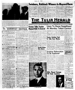 Primary view of object titled 'The Tulia Herald (Tulia, Tex.), Vol. 62, No. 15, Ed. 1 Thursday, April 9, 1970'.