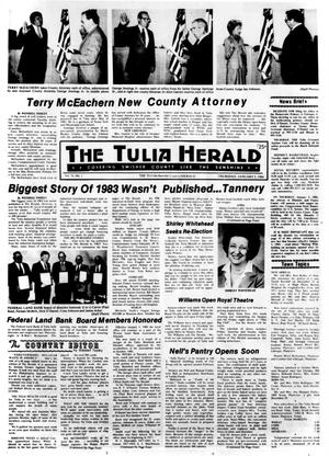Primary view of object titled 'The Tulia Herald (Tulia, Tex.), Vol. 76, No. 1, Ed. 1 Thursday, January 5, 1984'.