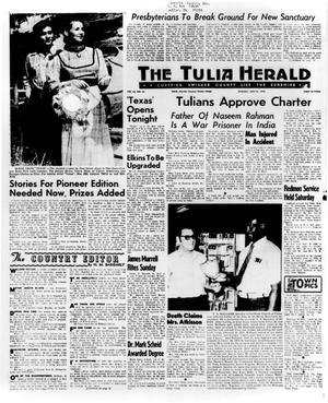 Primary view of object titled 'The Tulia Herald (Tulia, Tex.), Vol. 63, No. 25, Ed. 1 Thursday, June 22, 1972'.