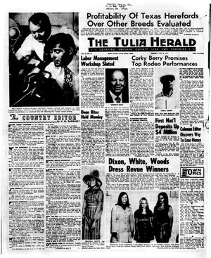 Primary view of object titled 'The Tulia Herald (Tulia, Tex.), Vol. 63, No. 27, Ed. 1 Thursday, July 8, 1971'.