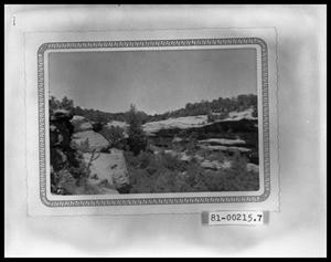 Primary view of object titled 'Indian Ruins'.