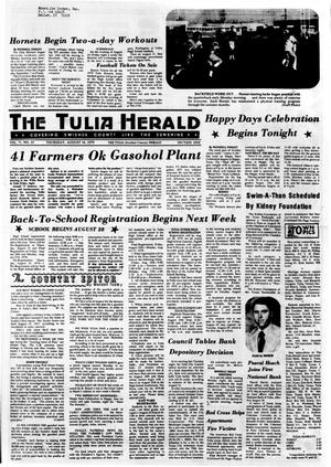 Primary view of The Tulia Herald (Tulia, Tex.), Vol. 71, No. 33, Ed. 1 Thursday, August 16, 1979