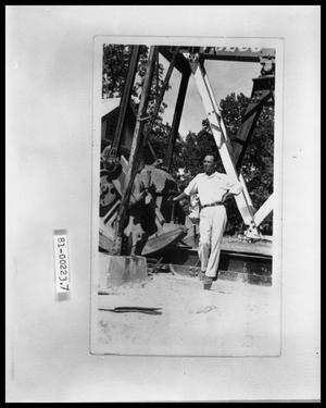 Primary view of object titled 'V. C. Perini, Jr. at Oil Well'.