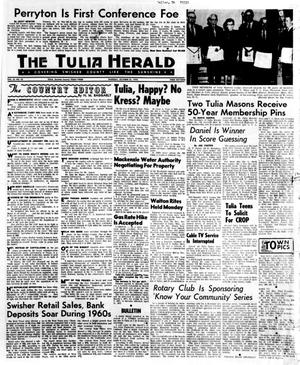 Primary view of object titled 'The Tulia Herald (Tulia, Tex.), Vol. 62, No. 43, Ed. 1 Thursday, October 22, 1970'.