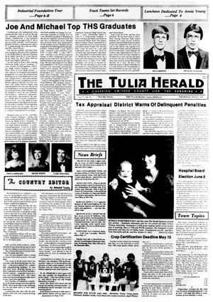 Primary view of object titled 'The Tulia Herald (Tulia, Tex.), Vol. 77, No. 19, Ed. 1 Thursday, May 9, 1985'.