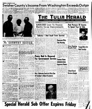 Primary view of object titled 'The Tulia Herald (Tulia, Tex.), Vol. 62, No. 31, Ed. 1 Thursday, July 30, 1970'.