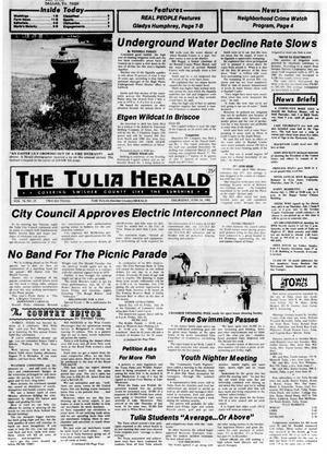 Primary view of object titled 'The Tulia Herald (Tulia, Tex.), Vol. 74, No. 25, Ed. 1 Thursday, June 24, 1982'.