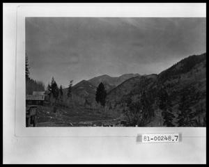 Primary view of object titled 'Gold Mine and Mining Camp'.