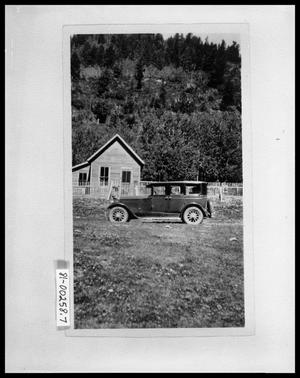 Primary view of object titled 'Perini Family Car in Front of House'.