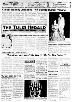 Primary view of object titled 'The Tulia Herald (Tulia, Tex.), Vol. 74, No. 39, Ed. 1 Thursday, September 30, 1982'.