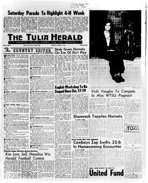 Primary view of object titled 'The Tulia Herald (Tulia, Tex.), Vol. 65, No. 41, Ed. 1 Thursday, October 11, 1973'.