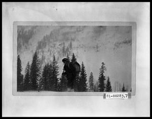 Primary view of object titled 'Man on Skis'.