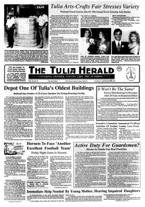 Primary view of object titled 'The Tulia Herald (Tulia, Tex.), Vol. 82, No. 39, Ed. 1 Thursday, September 27, 1990'.