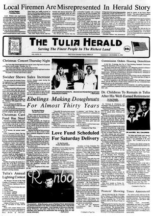 Primary view of object titled 'The Tulia Herald (Tulia, Tex.), Vol. 86, No. 50, Ed. 1 Thursday, December 15, 1994'.