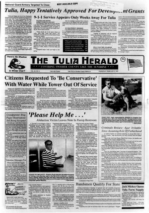 Primary view of object titled 'The Tulia Herald (Tulia, Tex.), Vol. 84, No. 6, Ed. 1 Thursday, February 6, 1992'.