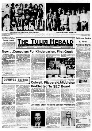 Primary view of object titled 'The Tulia Herald (Tulia, Tex.), Vol. 80, No. 12, Ed. 1 Thursday, March 24, 1988'.