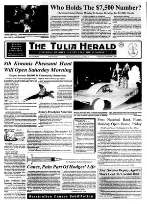 Primary view of object titled 'The Tulia Herald (Tulia, Tex.), Vol. 82, No. 49, Ed. 1 Thursday, December 6, 1990'.