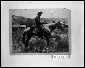 Primary view of object titled 'Man on Horseback'.