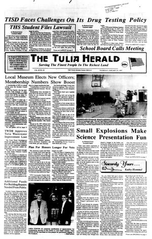 Primary view of object titled 'The Tulia Herald (Tulia, Tex.), Vol. 89, No. 4, Ed. 1 Thursday, January 23, 1997'.