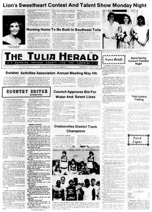 Primary view of object titled 'The Tulia Herald (Tulia, Tex.), Vol. 79, No. 18, Ed. 1 Thursday, April 30, 1987'.