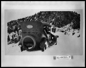 Primary view of object titled 'Automobile in Snow'.