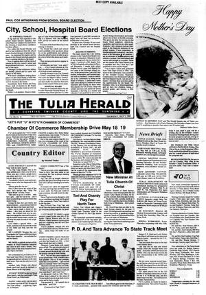 Primary view of object titled 'The Tulia Herald (Tulia, Tex.), Vol. 80, No. 18, Ed. 1 Thursday, May 5, 1988'.