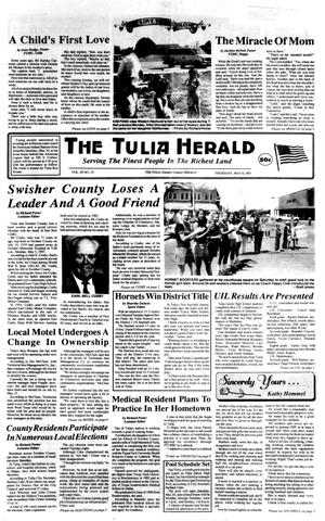 Primary view of object titled 'The Tulia Herald (Tulia, Tex.), Vol. 89, No. 19, Ed. 1 Thursday, May 8, 1997'.