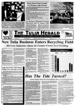 Primary view of object titled 'The Tulia Herald (Tulia, Tex.), Vol. 83, No. 5, Ed. 1 Thursday, January 31, 1991'.