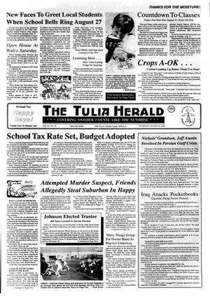 Primary view of object titled 'The Tulia Herald (Tulia, Tex.), Vol. 82, No. 33, Ed. 1 Thursday, August 16, 1990'.