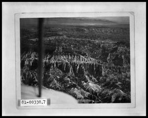 Primary view of object titled 'Mountain View From An Airplane'.