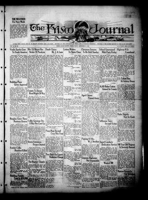 Primary view of object titled 'The Frisco Journal (Frisco, Tex.), Vol. 27, No. 50, Ed. 1 Friday, December 21, 1928'.