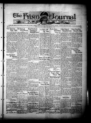 Primary view of object titled 'The Frisco Journal (Frisco, Tex.), Vol. 29, No. 05, Ed. 1 Friday, February 7, 1930'.