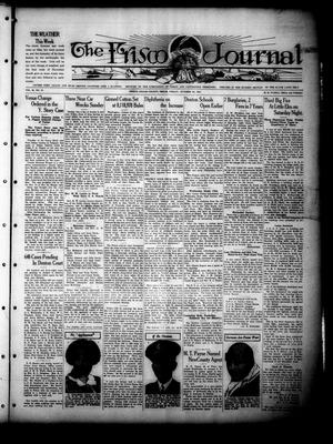 Primary view of object titled 'The Frisco Journal (Frisco, Tex.), Vol. 36, No. 37, Ed. 1 Friday, October 28, 1927'.