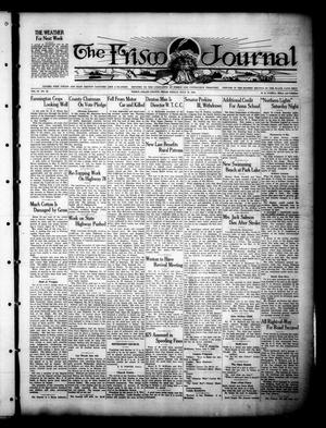 Primary view of object titled 'The Frisco Journal (Frisco, Tex.), Vol. 27, No. 22, Ed. 1 Friday, July 13, 1928'.