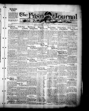 Primary view of object titled 'The Frisco Journal (Frisco, Tex.), Vol. 27, No. 11, Ed. 1 Friday, April 27, 1928'.