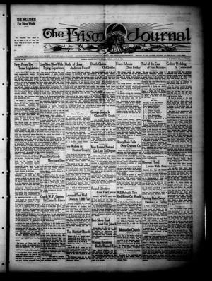Primary view of object titled 'The Frisco Journal (Frisco, Tex.), Vol. 28, No. 20, Ed. 1 Friday, May 24, 1929'.