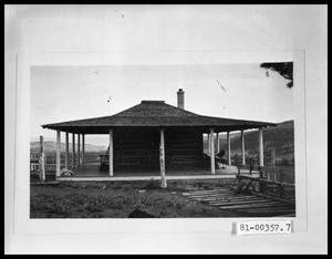 Primary view of object titled 'Mountain Cabin'.