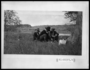 Primary view of object titled 'Group on Picnic'.