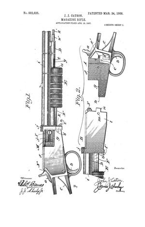 Primary view of object titled 'Magazine Rifle'.