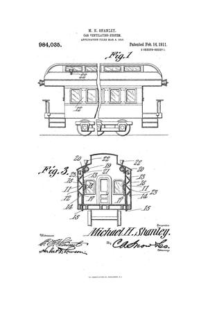 Primary view of object titled 'Car-Ventilating System.'.