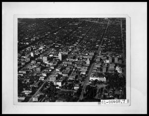Primary view of object titled 'Aerial View of City'.
