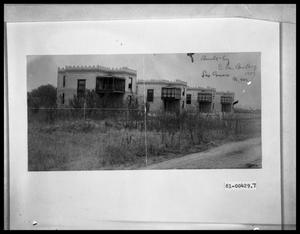 Primary view of object titled 'Building in Las Cruces New Mexico'.