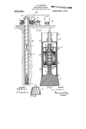 Primary view of object titled 'Well-Drilling Device'.