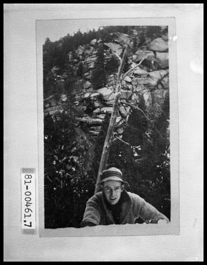 Primary view of object titled 'Man in Mountains'.