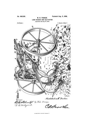 Primary view of object titled 'Land Bedder And Cultivator.'.